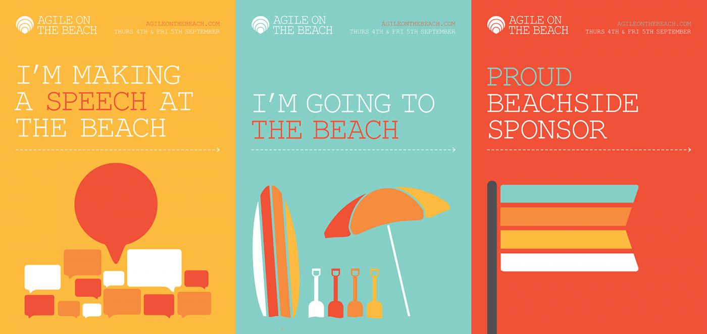 agileonthebeach-poster-designs