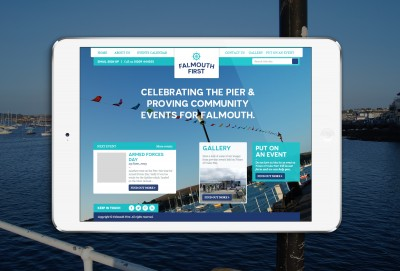 falmouth first responsive website design
