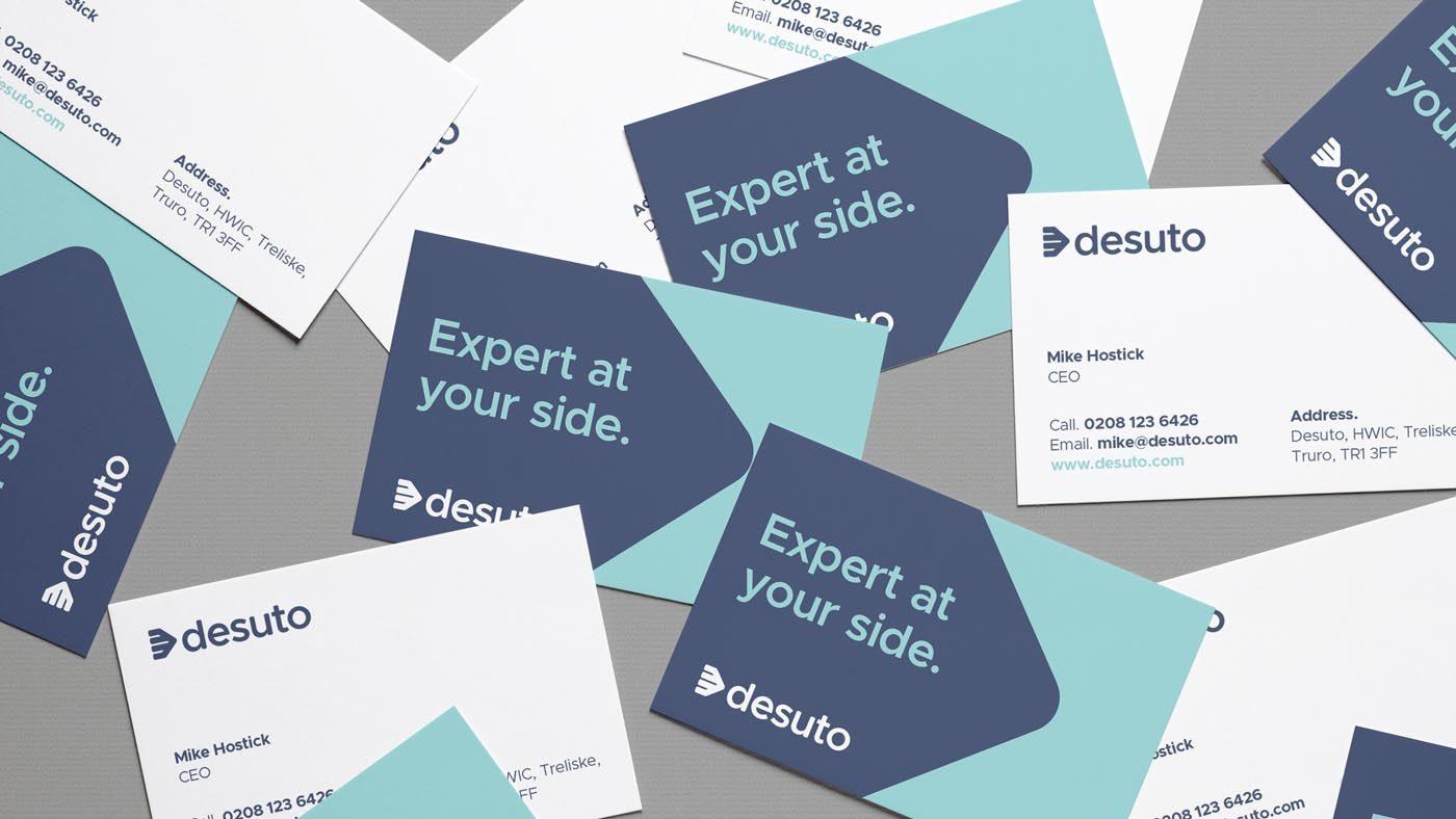 desuto business card design