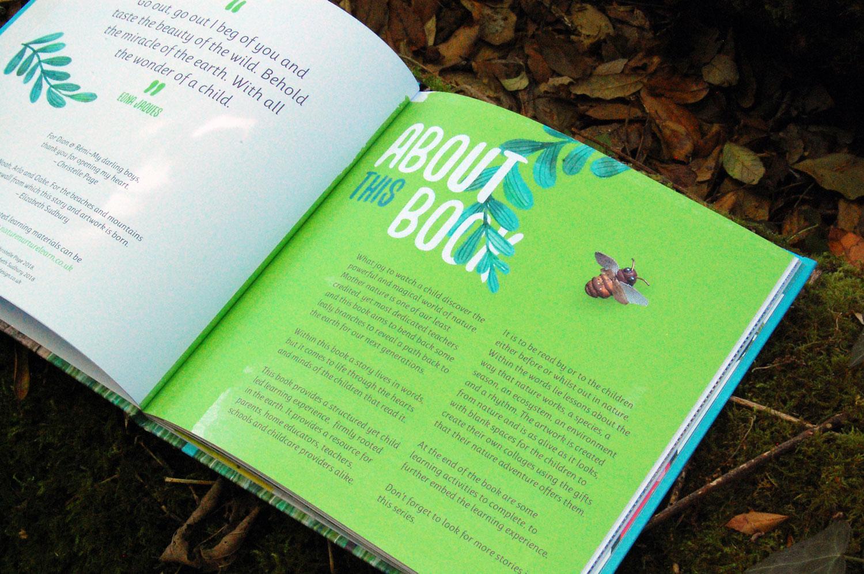 childrens book graphic design